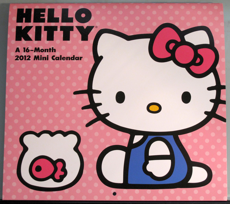 Hello Kitty 2012 Mini Calendar | hello kitty stuff