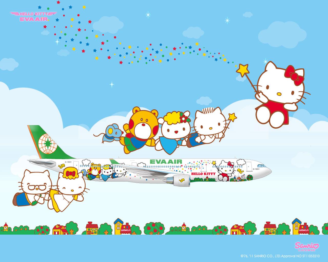 Hello Kitty Eva Airways 2012 Calendars! | hello kitty stuff