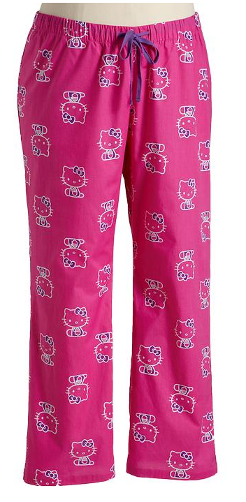 Hello Kitty Pajamas Plus Size - Breeze Clothing-2821