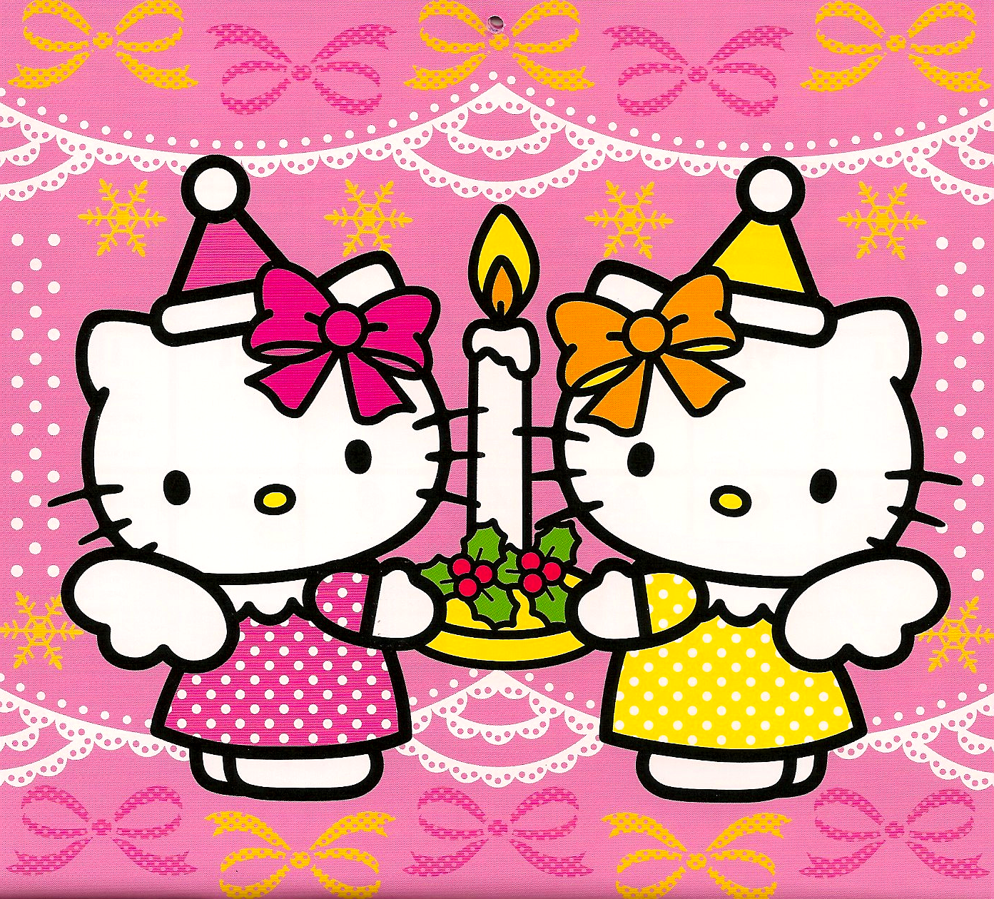 Christmas - Hello kitty image ...