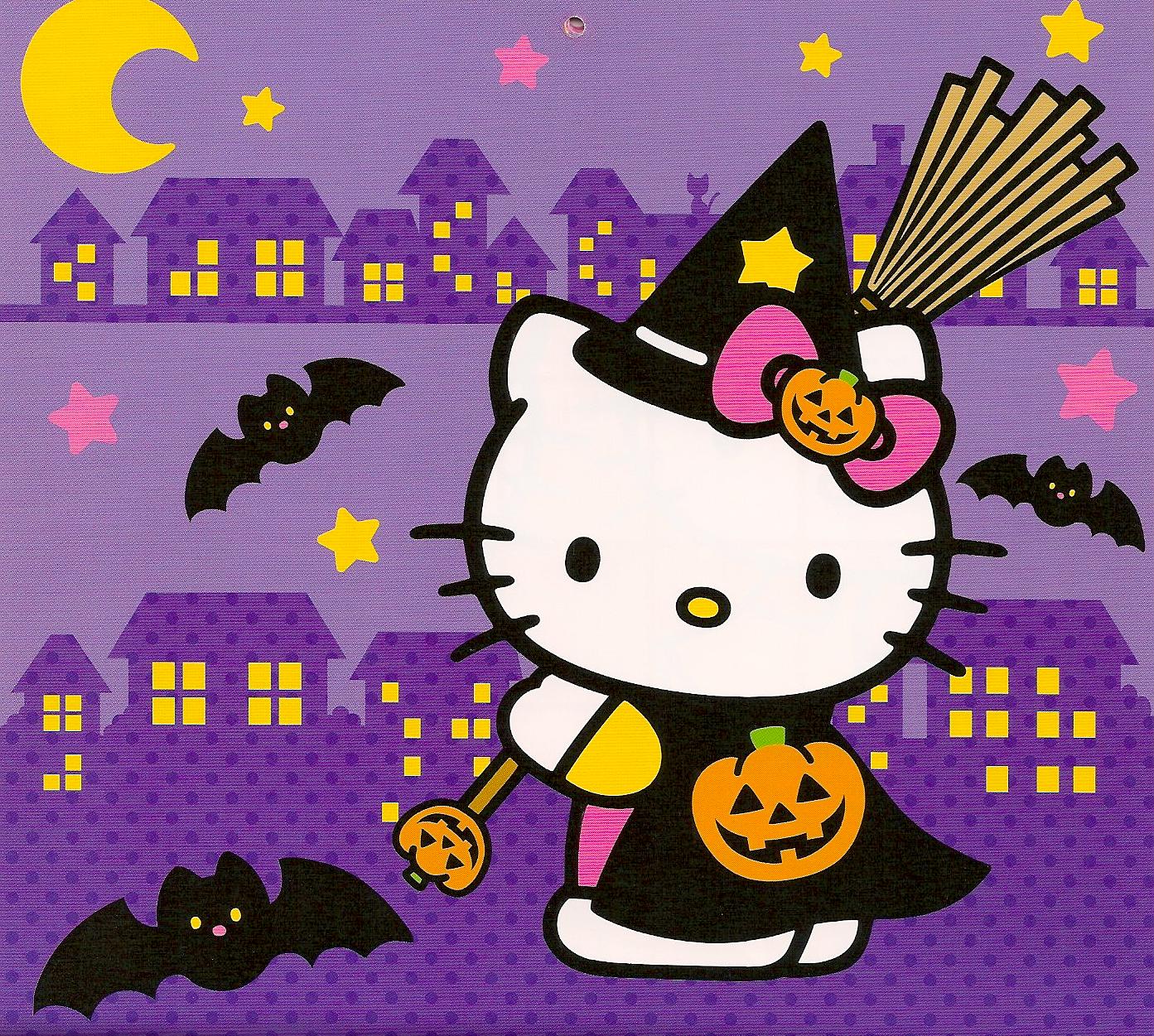 halloween  hello kitty stuff