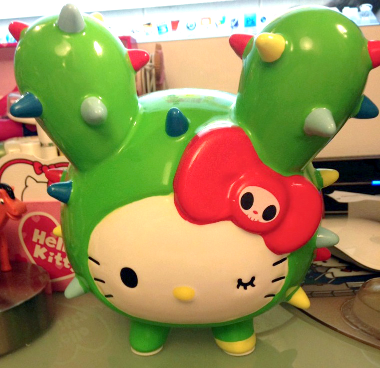 Tokidoki Hello Kitty Bank